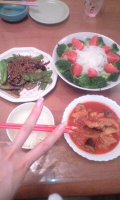 ゜+☆今日の夕食☆ +<br />  ゜