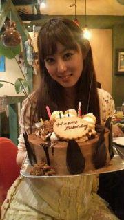 Happy Birthday to me(*´∀`*)